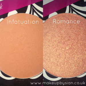 MakeUp Geek Cosmetics Infatuation Romance