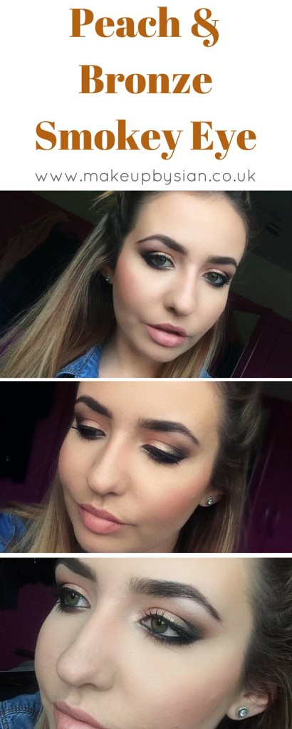 Make Up By Sian - Peach & Bronze Smokey Eye